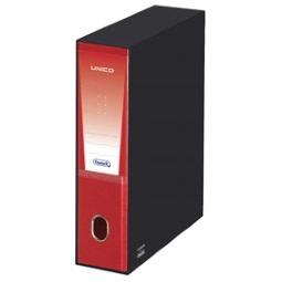 Rosso Favorit 100460521 Registratore Unico con Custodia Formato Interno 23X33 Dorso 8 cm